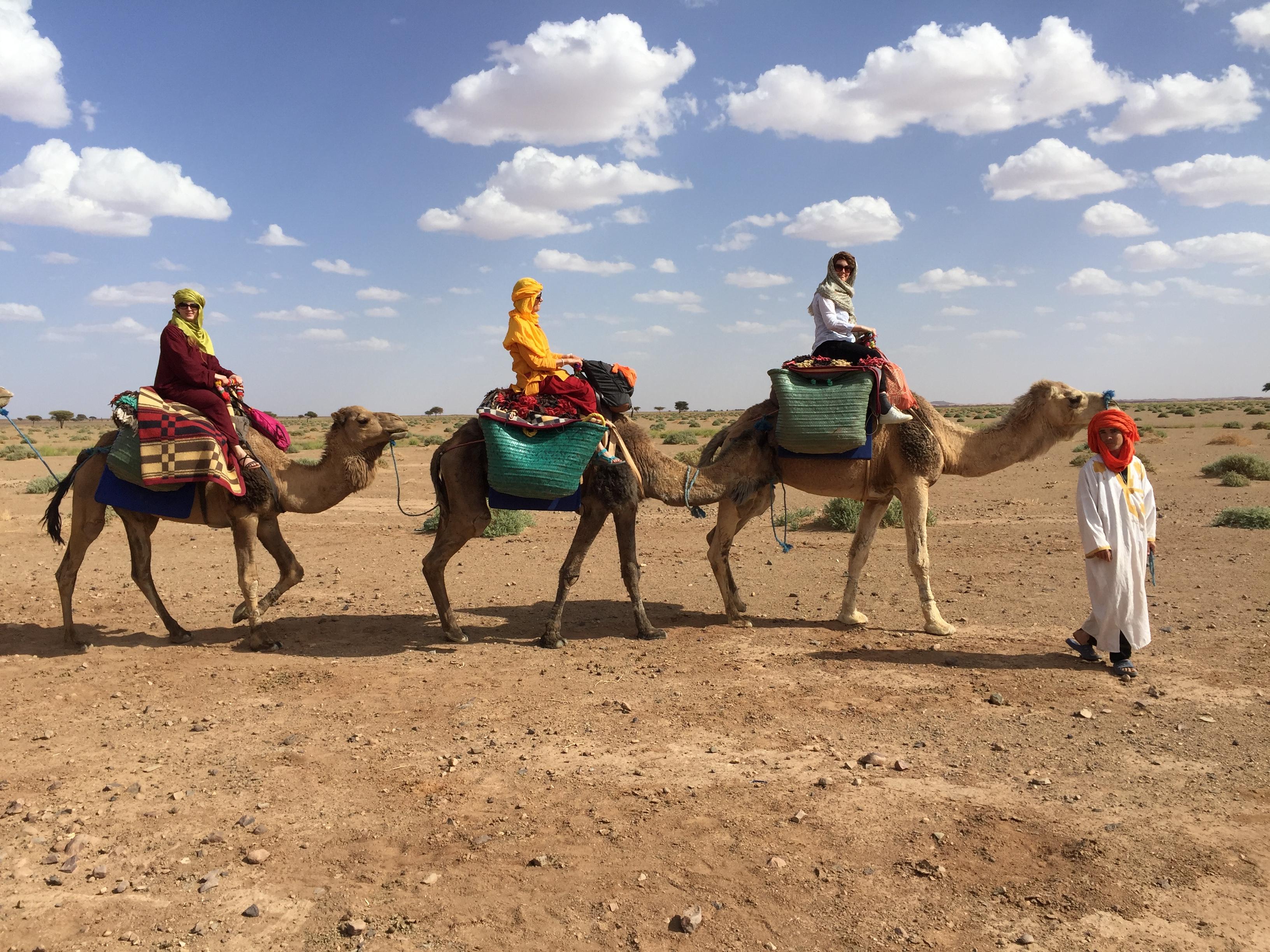Wir tauchen ein in die Welt der Berber